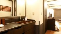 ●客室:洗面台