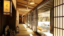 ●館内:回廊(冬)