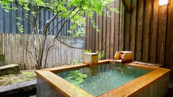【禁煙】露天風呂付和洋タイプ60平米/お部屋でのんびり湯浴み