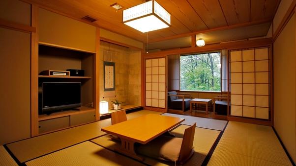 【禁煙】和タイプ56平米/足を伸ばして寛げる純和風の客室