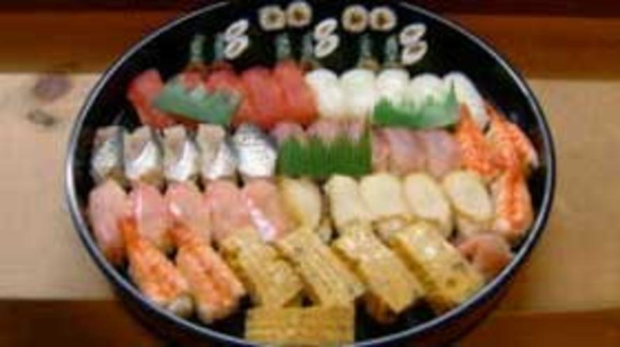 寿司食べ放題コース