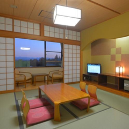【和室10畳】2〜4名様用のお部屋です。