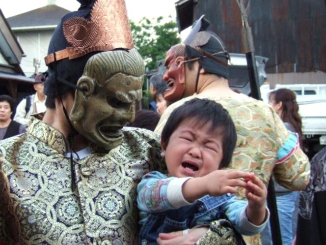 上野天神祭「鬼行列」