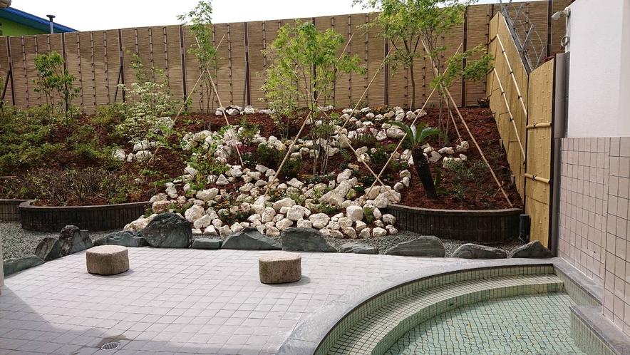 洋風露天風呂庭園