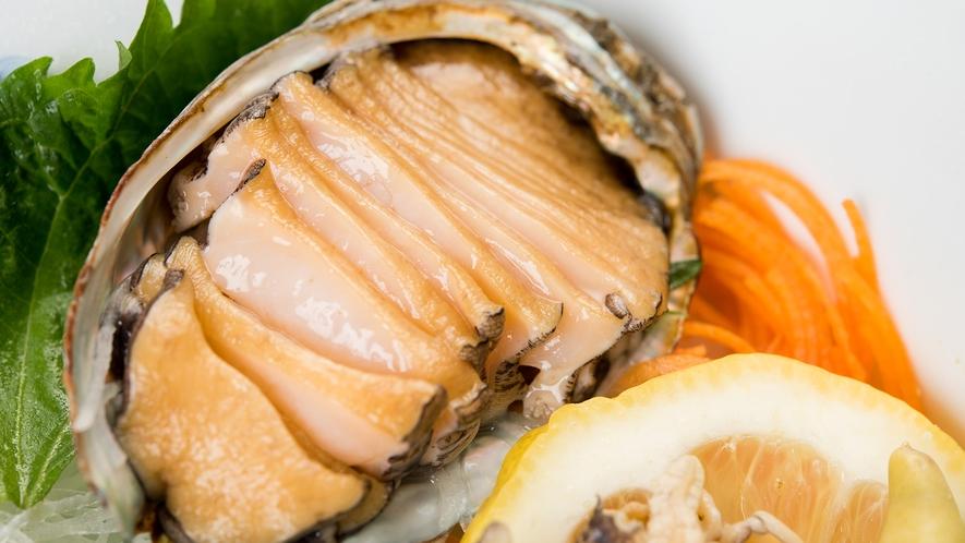 *【夕食一例:アワビ】肉厚&柔らか&コリコリ食感がたまらない!