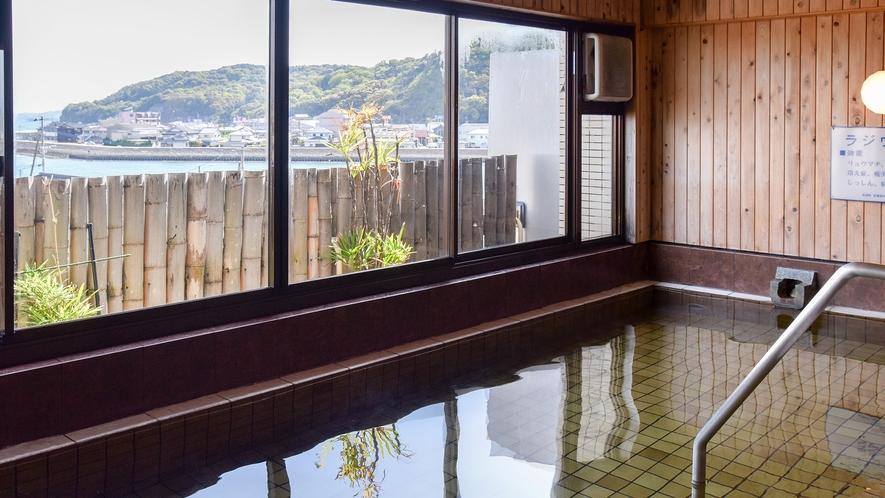 *【大浴場:女湯】有明海を眺めながら至福のひと時…