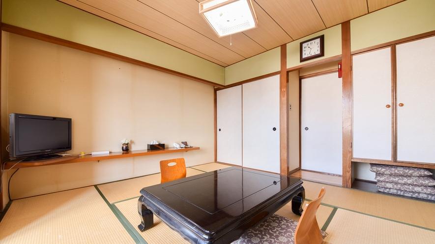 *【客室一例:和室8畳】やっぱり畳のお部屋は落ち着きますね♪