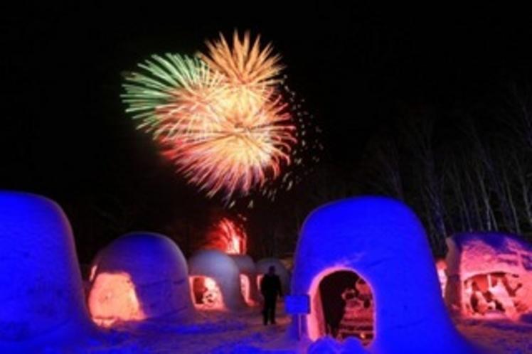 2012年奥日光湯元温泉雪まつり