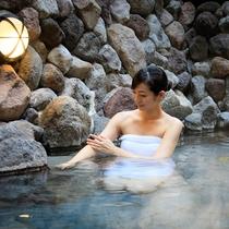 やわらかな泉質の美人の湯