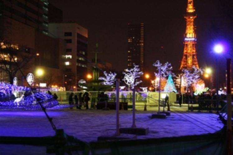 大通公園とTV塔