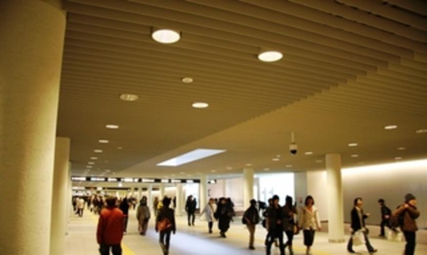 地下歩行空間札幌駅〜すすきの
