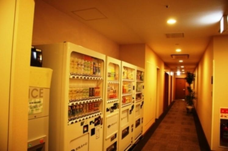 自動販売機コナーと製氷機5階