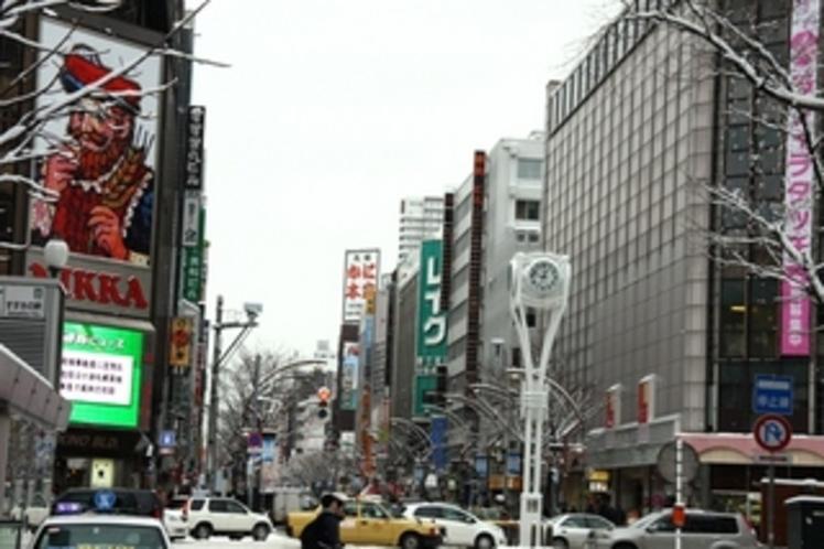 札幌すすきの交差点