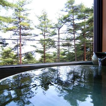 露天風呂付特別和室「かたくり」