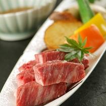 *三田牛料理例