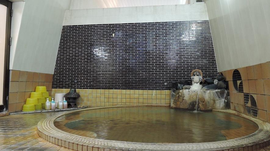 *【温泉】無色透明の源泉かけ流し温泉。