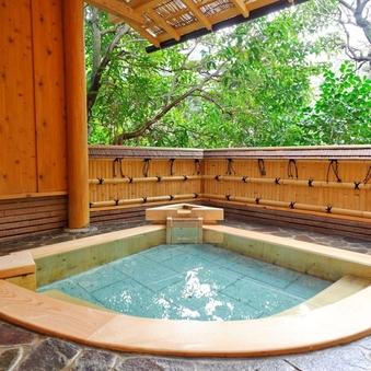 【山荘】[四季の間]天然温泉 露天風呂付客室「桃李」
