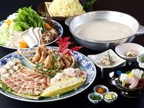 <冬の鍋祭り>長崎ばってん鶏水炊き風鍋