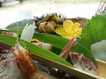 【夏】地魚の刺身盛り合わせ