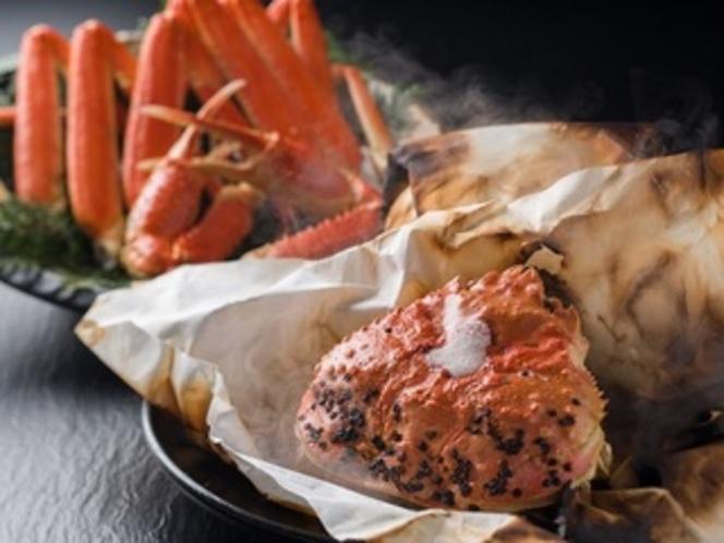蟹味噌奉書焼き
