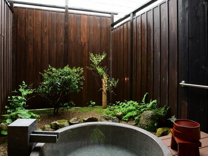 露天風呂-道路側客室