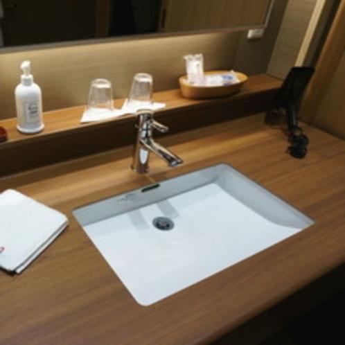 【海側・特別室和洋室】洗面台