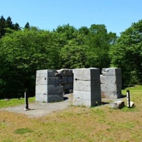 ■橋野高炉跡(世界文化遺産)