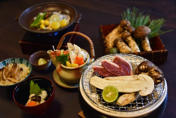 『三陸産松茸づくしプラン』