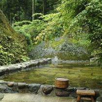 深耶馬溪の露天風呂