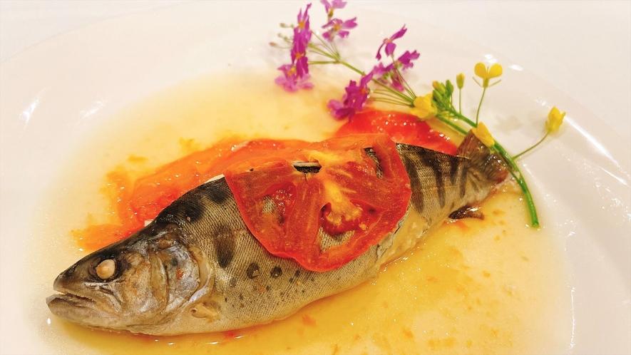 【夕食】お魚料理/一例