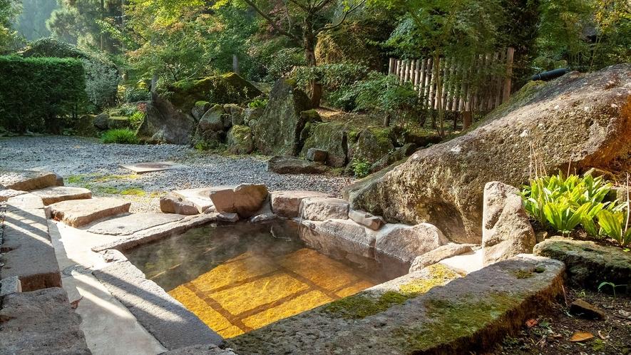 【大浴場】露天風呂