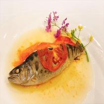 【夕食】お魚料理一例