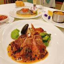 【夕食】お肉料理一例