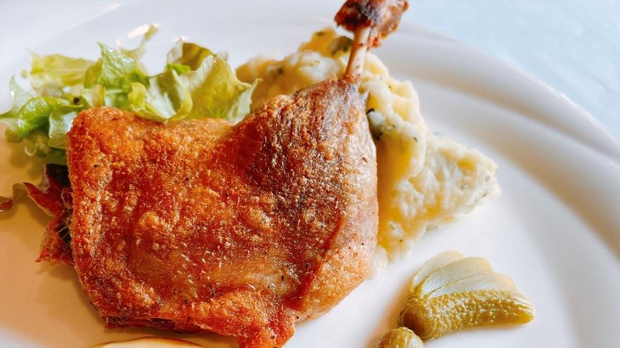 【夕食】お肉料理/一例