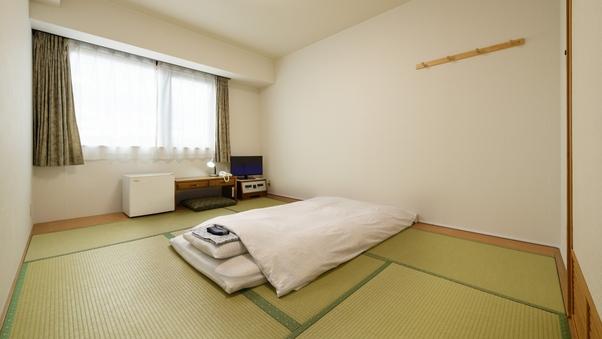[禁煙]◆イ草の香りが心地よい和室6畳+α◆1名様利用
