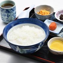 朝食(朝粥)