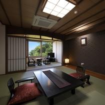 【部屋/和室】広々とした和室はご家族での宿泊にぴったりです♪