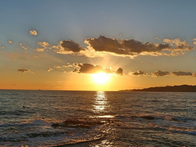 下田~夕陽~