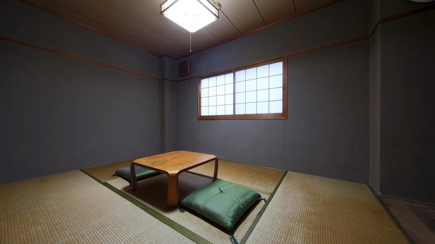 *【部屋(トイレ付き和室6畳)】静かでほっと落ち着く和室。