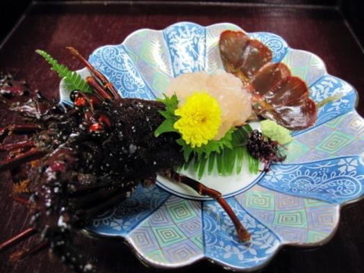 伊勢えびコース(秋、冬の旬料理)