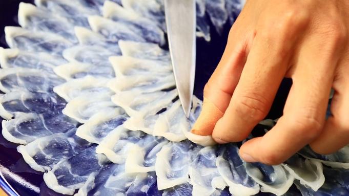 .+★冬季限定★+.『ふぐ&アワビ&タコ 10品』三大味覚の贅沢海鮮を楽しもう♪
