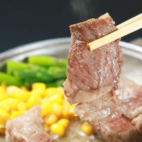 *口に入れるとほんのり広がる甘味が知多牛の特徴です