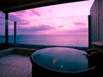 特別室Aタイプ 露天風呂付客室夕陽