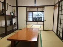 本館(民宿:ビジネス館)鶴・亀の間6畳2間