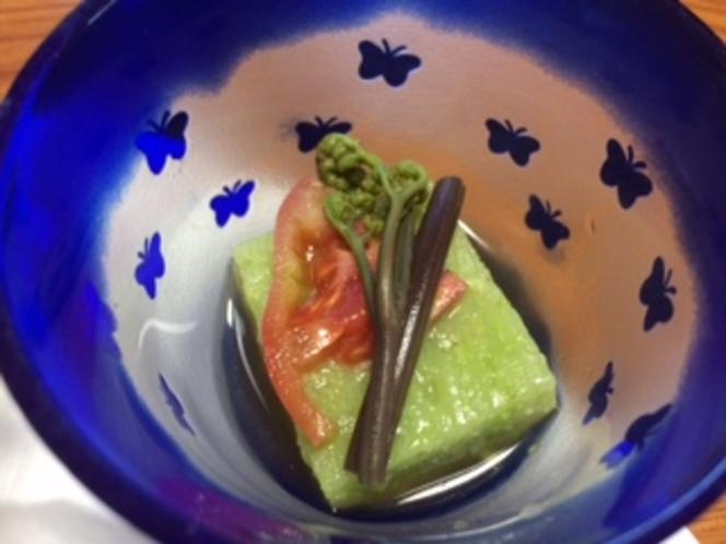 春の珍味の小鉢