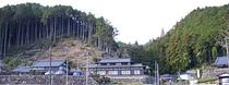 民宿旅館川合の遠景