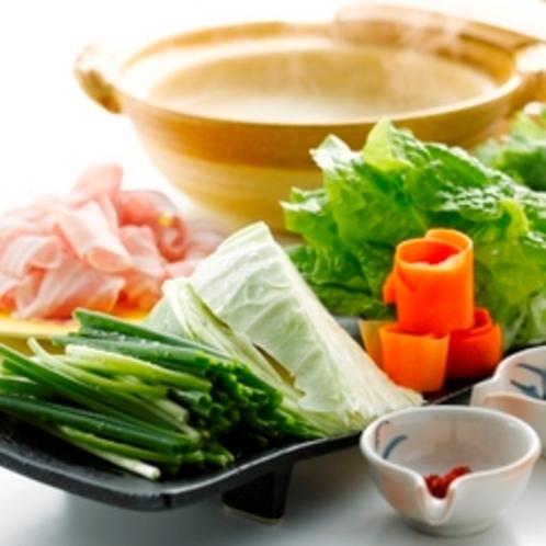 夕食【此処良の恵】鍋イメージ