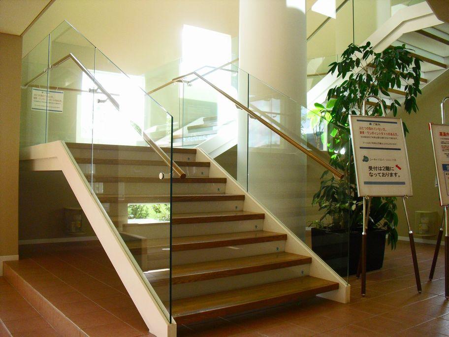 シーサイドスパおおいの湯 階段
