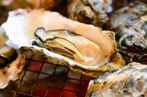 いろりにて~焼き牡蠣