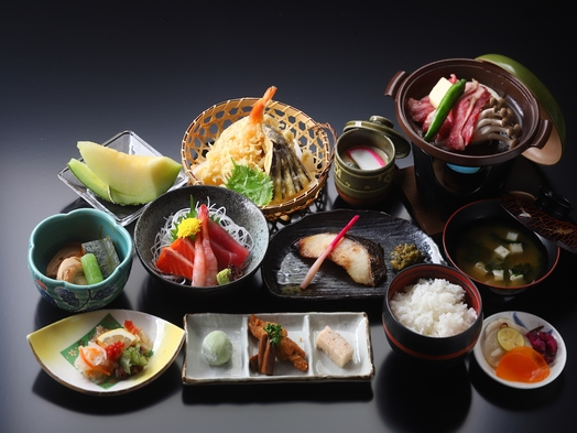 【朝食・夕食付き】ぬくもり御膳コースプラン